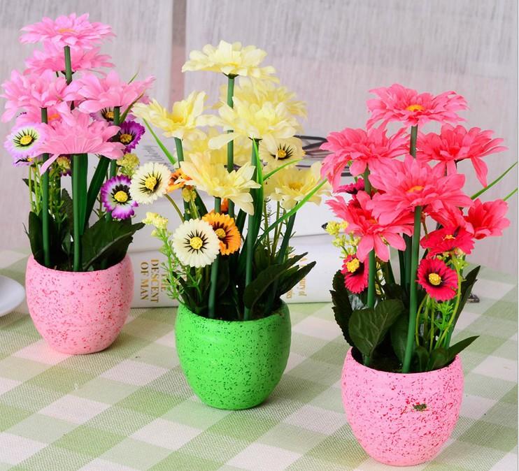 Seda Artificial flor crisântemo decoração de arranjos florais(China (Mainland))