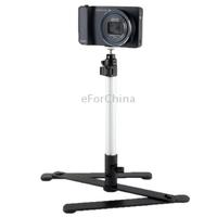 360 Degree Rotational Multi-Angle Macro Shooting Bracket for Digital Camera(Black)