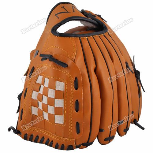 smartgood Official Design New Dark Brown Durable Men Softball Baseball Glove Sports Player Preferred Drop-shipping(China (Mainland))