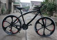 26 inch Mountain bike cycling 21 speed  one wheels mountain bike racing black and white