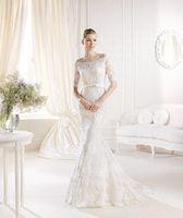NEW White/Ivory Lace Bridal Gown Wedding Dress Custom Size 6 8 10 12 14 16 18 ++