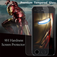 DHL FREE SHIPPING 4S tempered glass Explosion-proof Tempered Glass Screen Protector Guard Film for iPhone 4 4G 4S+retail box