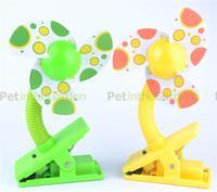 Clip-On Pram Stroller Buggy Fan Mini Crib Fan Cool Safe  Baby Infant Portable
