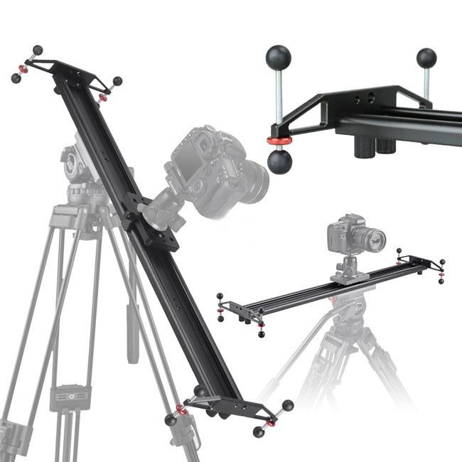 "32"" 80cm Studio Photo DSLR DV Camera Track Dolly Slider Video Stabilizer Stabilization System- free DHL shipping(China (Mainland))"