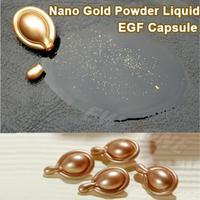 (Min. Order 10$) 24K Gold Powder 10 EGF Essence Powerful Anti Aging Capsule Facial Care Serum Whitening Repair wrinkle 1PCS