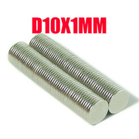 10*1 500pcs 10MM X 1 MM disc powerful magnet craft magnet neodymium magnets rare earth neodymium permanent strong magnet n50