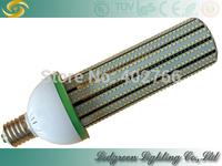 High brightness warehouse store garden light smd2835 120w led corn bulb