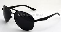 NEW 2014  Aviator de sol polarizados metal sunglasses motorcycle oculos multicolor Stainless Steel polaroid  gafas S8795 Free