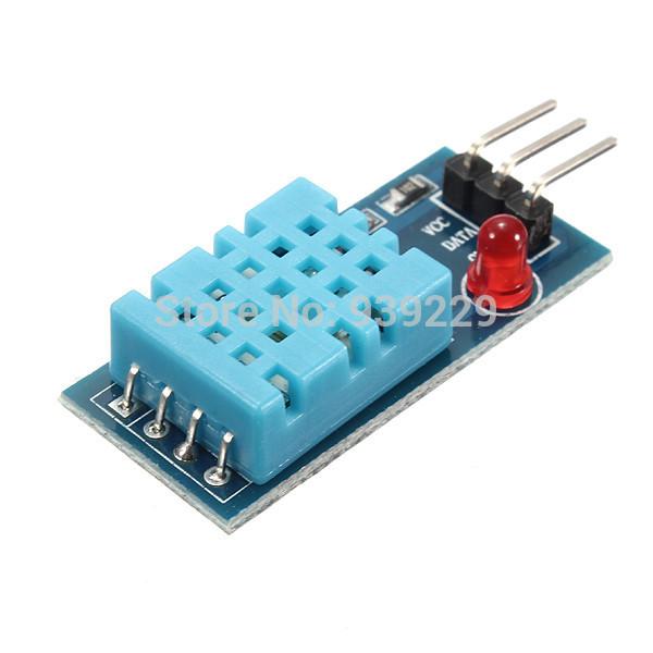 nova temperatura dht11 e módulo de sensor de umidade relativa para arduino