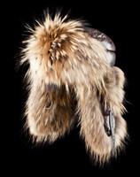 100% genuine fur winter cap hat for winter,fashion raccoon fur down cap women and men