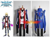 Anime Blazblue Jin Kisaragi Cosplay Costume Custom Made Free Shipping