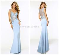 Mermaid Evening Dress Show Perfect Body Curve Sweetheart Vestidos Cap Sleeve Party Dresses Chiffon Floor-length Evening Dresses