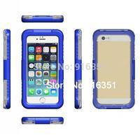 IP68 Waterproof Dustproof Shockproof Bumper Case For Apple iPhone 6 Plus 5.5&quot Case 5.5 Inch Retail Packaging Blue