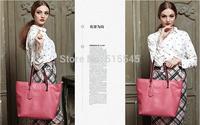 Genuine Leather Fashion Lady Tote Bag