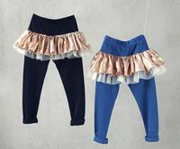 2014 girls lace  pants,pants girls , 5pcs/lot  LY02