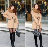 wholesale promotion fashion design Women's Outerwear jacket  Women Winter Warm  Down  free shipping