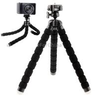 Fotopro RM-100 Octopus Style Flexible Mini Tripod with Head for Digital Camera (Black)