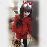 2014 new winter Child Headband Fabrics Christmas Antlers Staghorn Hair hoop