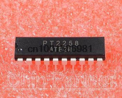 10 PCS PT2258 DIP-20 Electronic Volume Controller NEW(China (Mainland))