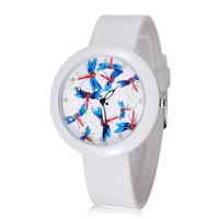 Dropshipping Silicone Analog Sports Watch Women Dress Watch Quartz Brand Fashion Casual Watches