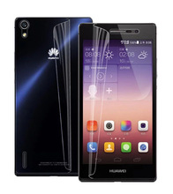 Top Rated Fasion Direct Selling 1 front Clear HD Lcd Screen Protector Cover Guard Film for Apple for Huawei Ascend P7