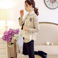 Free shipping!X02109 2014 line fashion gentlewomen slim small suit jacket