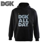 Free Shipping Cheap Brand DGK 2015 NEW DGK Sweatshirts DGK WEED leaves hip hop men's round neck sleeve head DGK hoodies