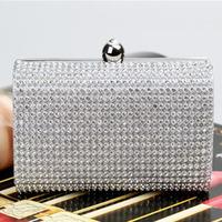 Women's Hot Promotion New Arrival Handmade Rhinestone Chain Bridal Bag Free Shipping