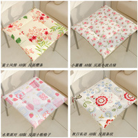 100% cotton Cloth cushion bubble pad dining chair cushion bread pad thickening dining chair pad Seat Cushion with tape