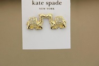 [TOP Design]Romantic Fashion  Camel crystal Stud earring  for Women  Special