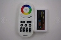 [Seven Neon]DC12V/24V 6A 2.4G RF wireless touch and switch led controller with reciever for led RGBW strip/bulb/module