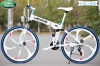 26-inch mountain bike 21 speed road bike folding double disc one wheel racing damping