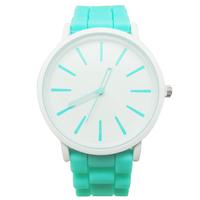 Geneva Quartz Watch Men Women Wristwatches Relogio Masculino Feminino Relojes Silicone Band Fashion Sport Watches Christmas Gift