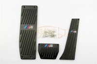 Free shipping & Tracking # Fuel Brake Foot Rest AT Pedals Pads for BMW X1 E46 E90 E92 E93 E87 3 Series New 1 series (HQ-011