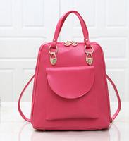 New women's korean stye students Multi-purpose three  usages cindy color Backpacks