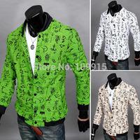 Stylish Mens Slim Fit Jacket Button Blazer Coat Long Sleeve Casual Outwear TopsFree&Drop Shipping