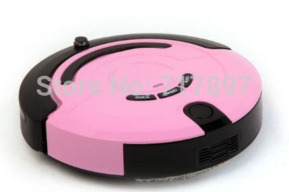 Free Shipping Intelligent Robot Vacuum Cleaner +Schedule+Virtual Wall+Auto Charge+ Remote Control(China (Mainland))