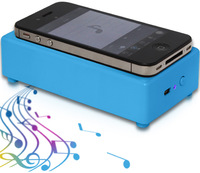 free shipping Induction Speaker Smallest Wireless Magic Portable Speaker for iPhone Nokia etc. free shipping