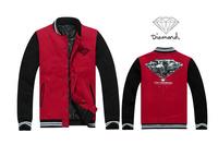 CT-54 Plus size new 2015 women men Pullovers hip hop sweatshirts diamond supply co men  Jackets sweatshirt Punk diamond