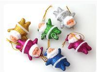 Free shipping christmas decoration  christmas  gift Colorful Santa Claus Pendant