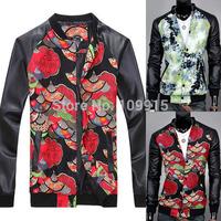 Korean Mens Fashion Jackets Slim Fit Coats Long Sleeve Outwear Tops L XL XXLFree&Drop Shipping