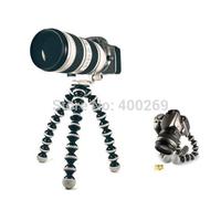 Free shipping 3pcs/Lot Small Gorillapod Tripod Octopus Grip Flexible Holder for camera Go pro SJ4000 GP136S