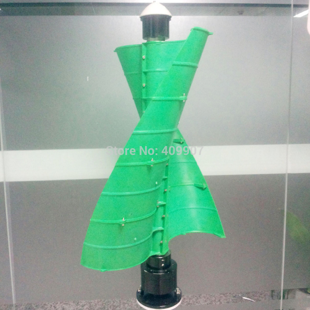1PCS 100W vertical wind generator mini wind turbine for home garden(China (Mainland))