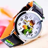Wholesale 3D Cartoon Boys Watch Fashion Children Boys Kids Students Leather Casual Analog Quartz Watch Wristwatches Gifts 167076