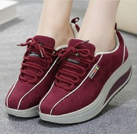 women shoes Free shipping New arrival hot selling fashion sneakers for women platform wedges sneakers casual sneakers women shoe