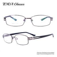 Metal Full Rim Men Eyewear Optical Frame Eyeglasses Prescription Glasses For Myopia and Reading