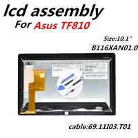 11.6'' Laptop lcd For Asus Vivo Tab TF810C B116XAN01.0 Full LCD Assembly