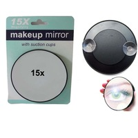 Magnifying Mirror 15X Suction Cup Makeup Compact Cosmetic Face Care Shave Travel FREE SHIPPING