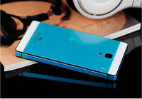 Factory Price Case Square Style Tempered Tough Glass Battery Case Cover For Xiaomi Hongmi Redmi 1S