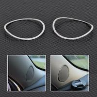Chrome Car Stereo Speaker Ring Trim Decoration Loop For Chevrolet Malibu 2012-2014  ECA02059